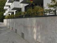 Muschelkalk, Fassade