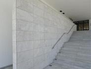 Muschelkalk, Kalkstein Edelgrau, Innenarchitektur, Boden- und Wandbeläge, Stufen