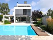 Travertin Bauhaus, Bodenplatten, Pool-Einfassungen, Wandplatten