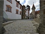 Muschelkalk, Pflaster, Kirchen, Burgen, Schlösser