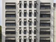 Travertin Bauhaus, Fassadenplatten