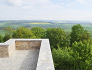 Muschelkalk, Garten- und Landschaft, Scharfenstein