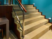 Seeberger Sandstein, Boden– und Wandbeläge, Stufen