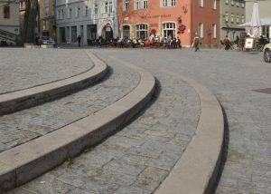 Natursteinpflaster in Weimar mit Natursteinen von TRACO