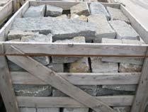 BARBAROSSA Mauersteine , in Kisten