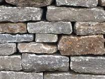BARBAROSSA Mauersteine , lose Kalkstein grau