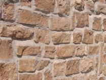 HAINICH Mauersteine, lose Travertin beige