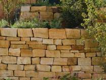 WARTBURG Mauersteine, lose Sandstein gelb-grau
