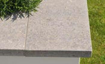 Mauerabdeckung Muschelkalk