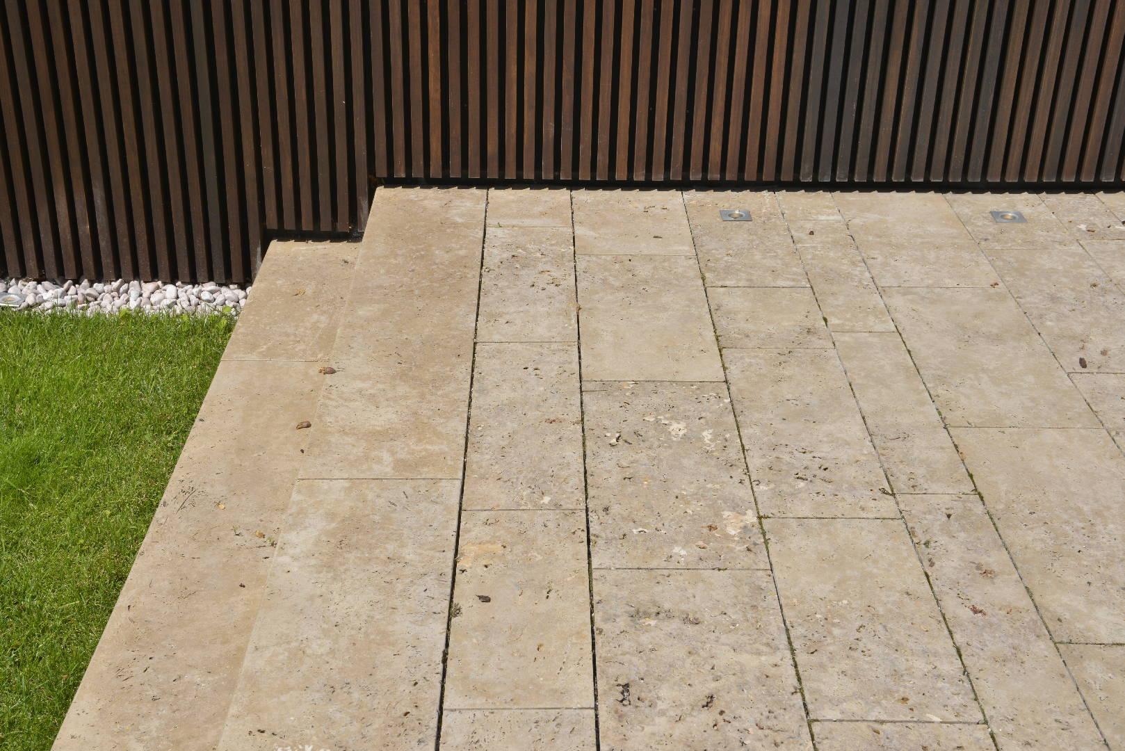 Travertin Terrassenplatten TRACO