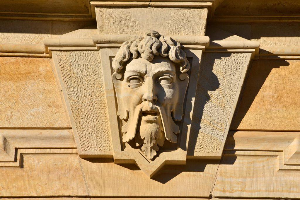 Herzogliches Museum Gotha - mit Massivarbeit aus Seeberger Sandstein
