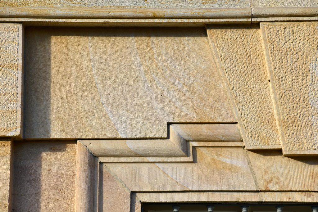 Herzogliches Museum Gotha - mit Steinmetzarbeit aus Seeberger Sandstein