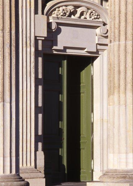 Säulen aus Sandstein