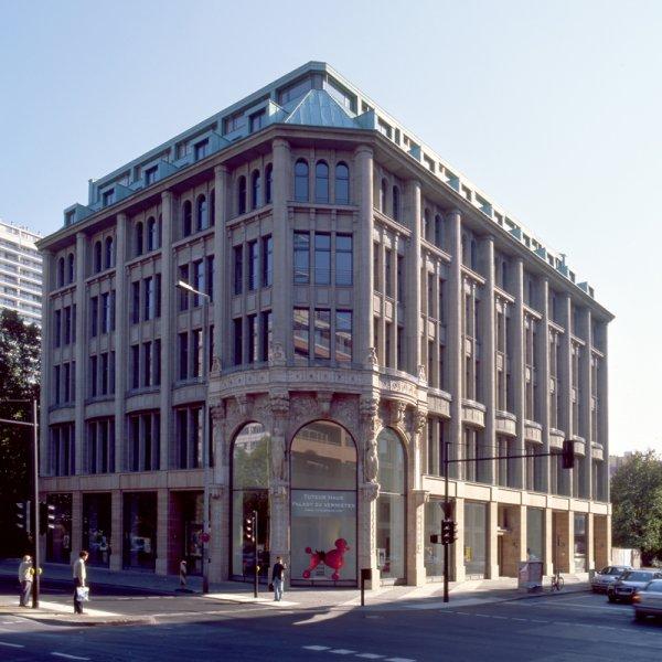 Referenz einer historisch restaurierten Fassade