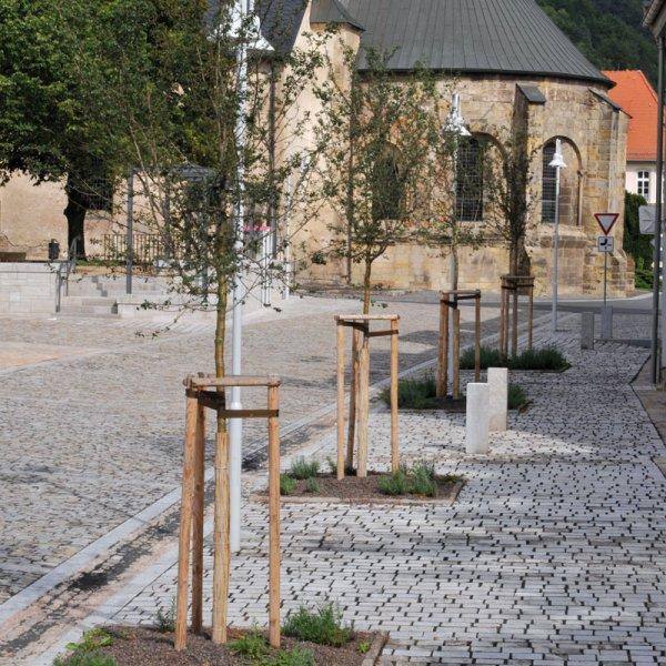 Natursteinpflaster vpn TRACO in Innenstadt