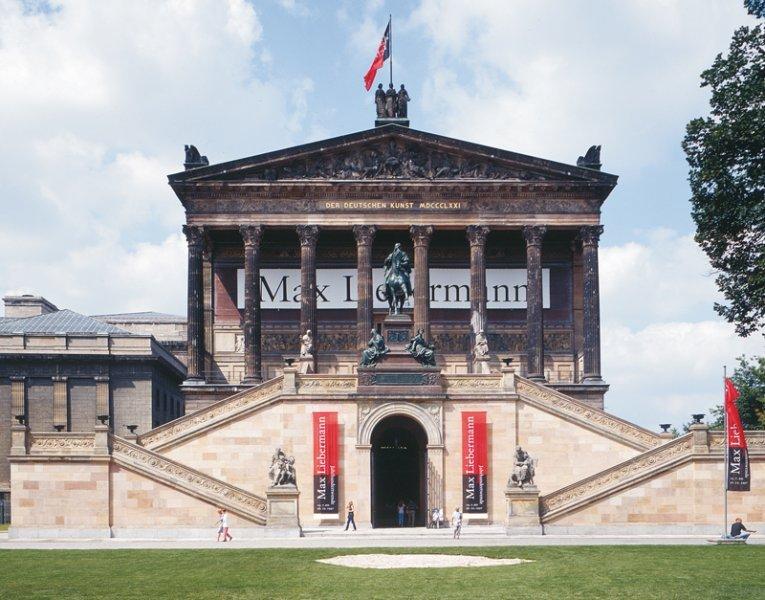 Alte Nationalgalerie Berlin restauriert mit Natursteinen von TRACO