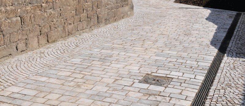 Treffurt Pflaster von TRACO nach historischem Vorbild