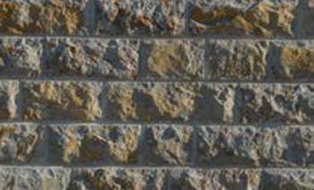 Hammerrechtes Schichtenmauerwerk Muschelkalk
