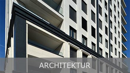 Architektur und Fassaden aus Naturstein von TRACO