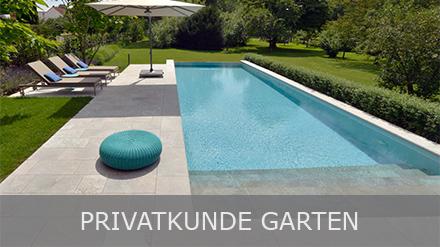 Natursteine im Garten für Privatkunden von TRACO