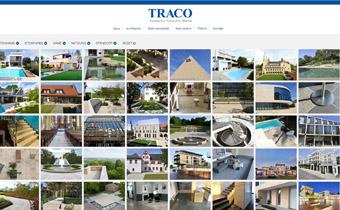 Die TRACO Projektdatenbank zeigt viele Referenzobjekte mit Naturstein