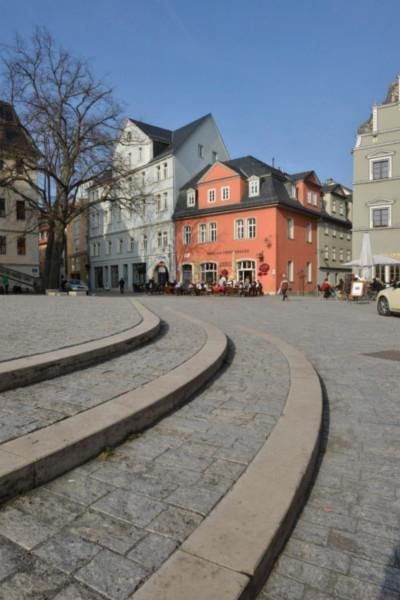 Herderplatz in weimar for Innenarchitektur weimar