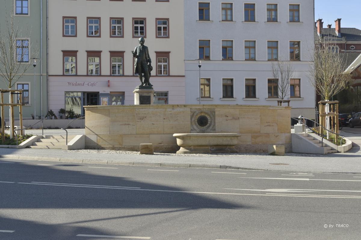 Wielandbrunnen weimar for Innenarchitektur weimar