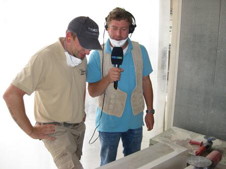 TRACO Besuche vom MDR 1 Radio Thüringen