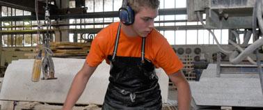 Ausbildung als Steinmetz bei TRACO