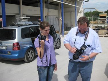 TRACO Besuch vom MDR 1 Radio Thüringen