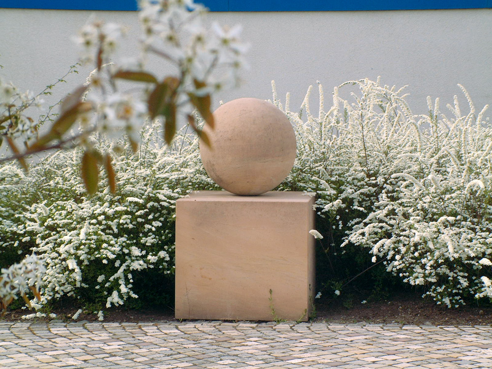 Miniatur-Nachbildung der Goethe-Kugel
