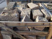 HAINICH Mauersteine, in Kisten
