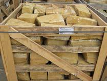 WARTBURG Mauersteine, in Kisten