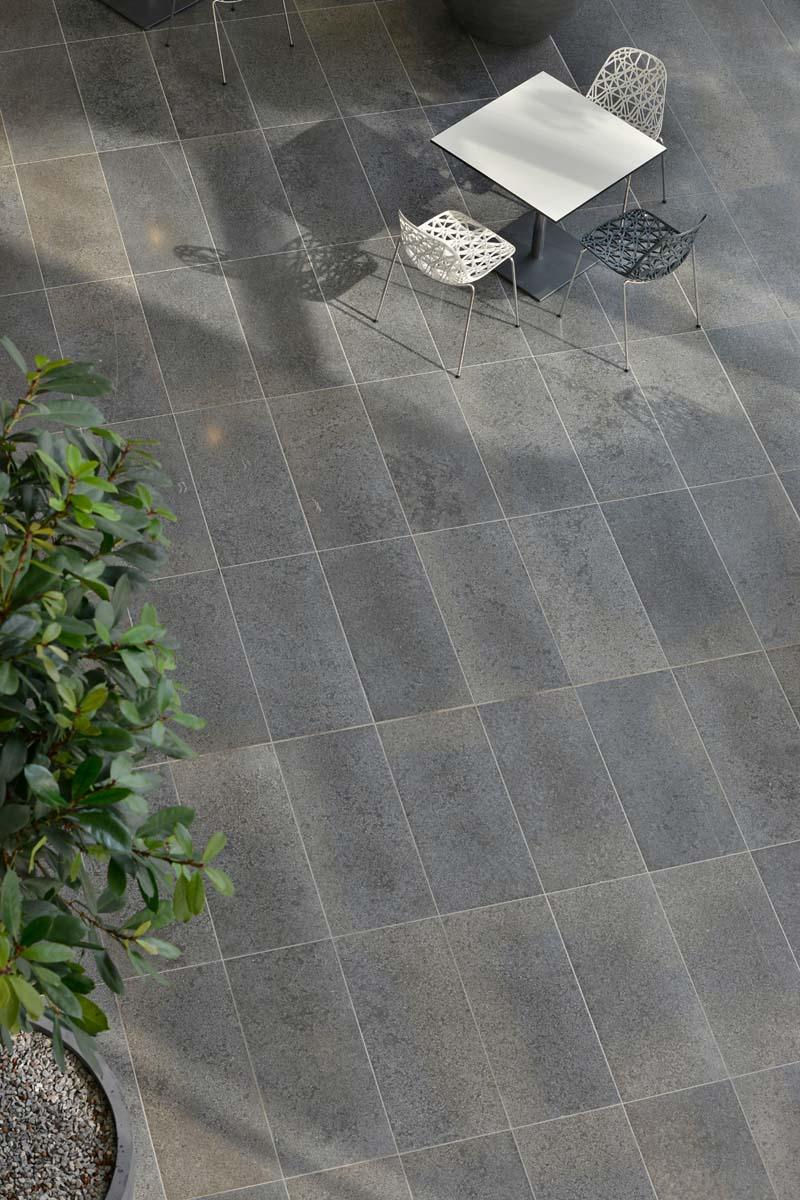 Muschelkalk Bodenplatten TRACO Naturstein