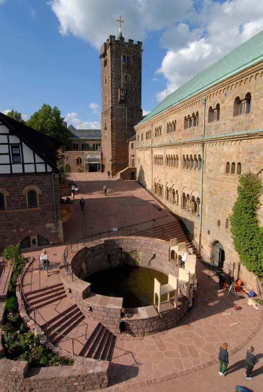 Wartburg Eisenach mit Seeberger und Tambacher Sandstein
