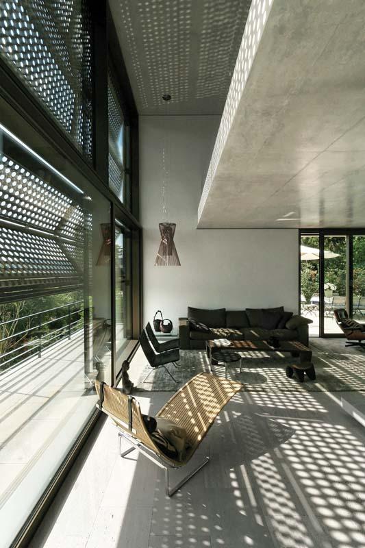 Natursteinboden - Privatvilla