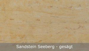 Seeberger Sandstein mit gesägter Oberfläche