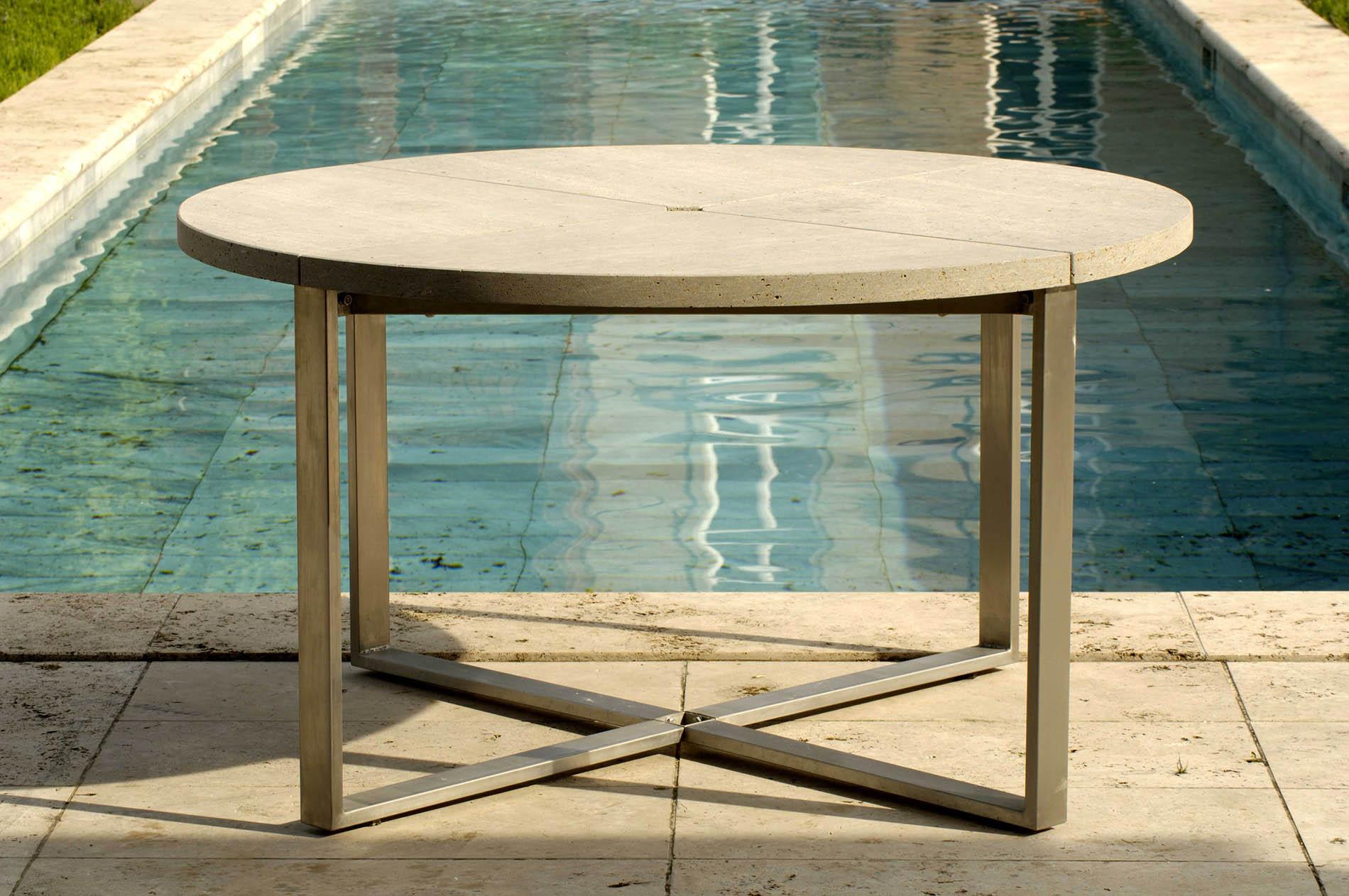 TRACO Pure Gartenmöbel aus Kalk- und Sandstein