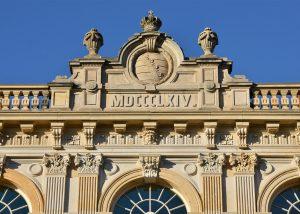 Herzogliches Museum Gotha - mit Brüstung und Massivarbeit aus Seeberger Sandstein