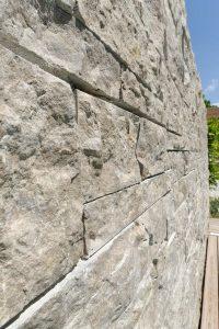 Landesgartenschau Würzburg 2018 - mit Mauersteinen aus Limes® Dolomit