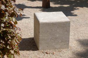Landesgartenschau Würzburg 2018 - mit Sitzblock aus Limes® Dolomit