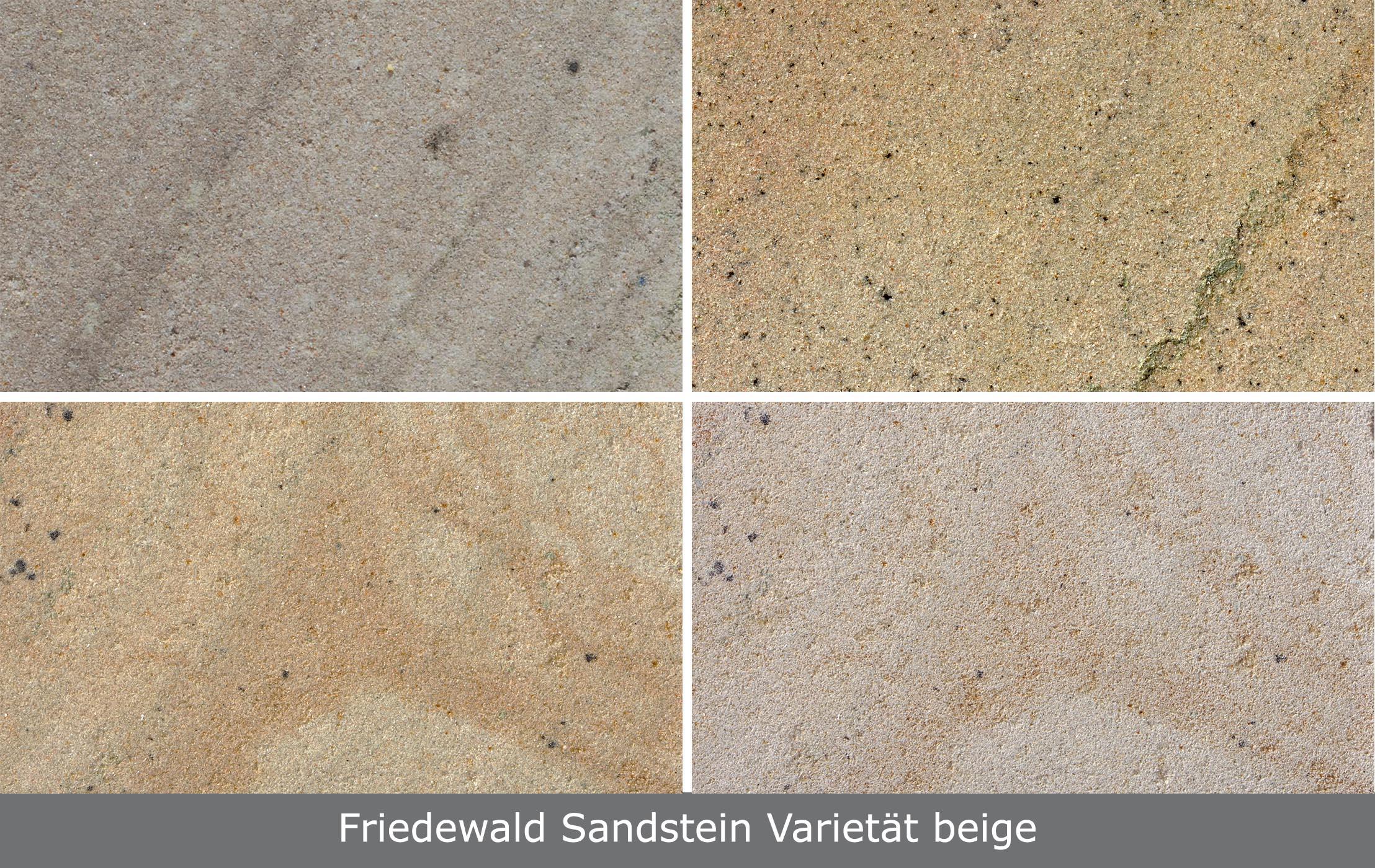 Friedewald Sandstein Varietät beige - TRACO