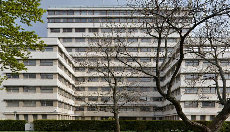 Kathreiner-Haus Berlin | Bruno Paul 1929 | Thüringer Travertin