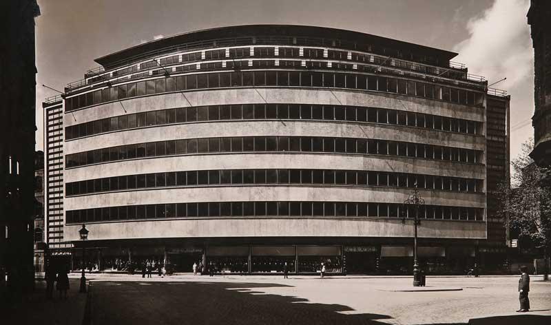 Kaufhaus Schocken Chemnitz | Erich Mendelsohn 1930